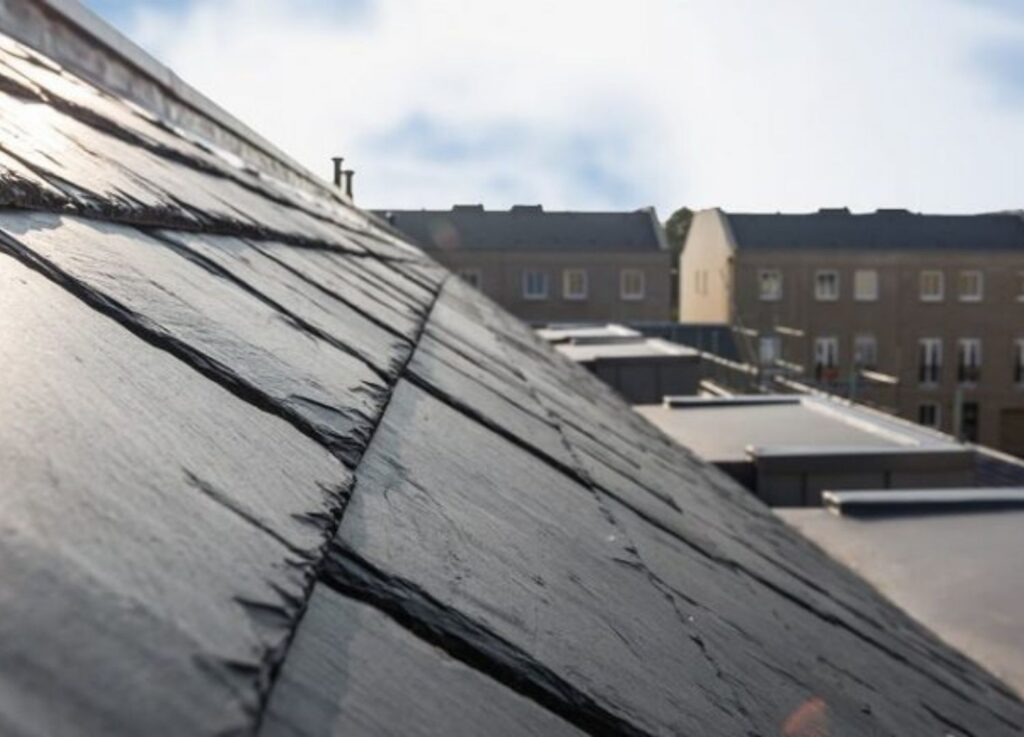 worn out roof